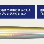 メジャークラフト「ジグパラ バーチカル イカナゴモデル」発売!!イカナゴパターンに!